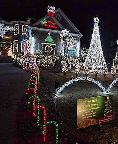 tony paradowskis christmas in the grove lights display at 1428 oak grove drive in decatur wowed locals for years on june 15 paradowski died suddenly at