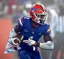 Florida's Toney shows off plenty of versatility at receiver - Atlanta Journal-Constitution